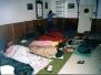 Spaní v klubovně - holky