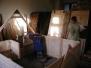 Tábor - dělání stanů