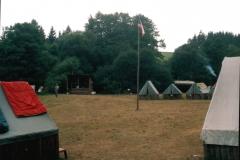 Pohled na tábor